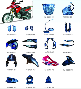 MOTORCYCLE PLASTIC BODY COVER FOR SK250 SERIES