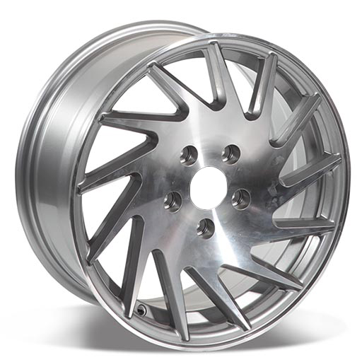 4/5 Holes Multi Spoke Car Alloy Wheels Rims 15/16 Inch Universal Car Rims