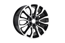 DH-B1224 20 inch Car Wheel Rims Replica 6H Black