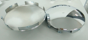 Hub cap metal chrome for truck DH-YY16251