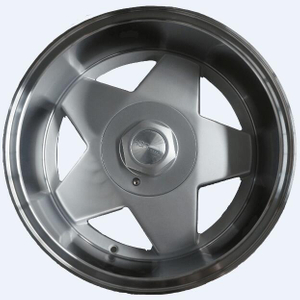Silver 13/15/16/17 Inch Car Aluminum Alloy Wheels Star Rims
