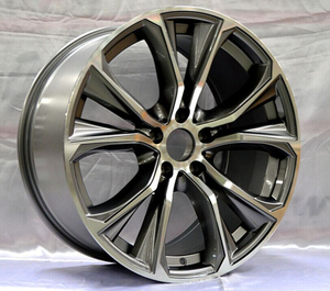 Car Alloy Wheels replica wheel 5 Holes 20 Inch Auto Rims Wheels for Cars DH-E56873