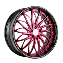 Colorful Alloy Wheels Different Sizes Customized Forged Car Wheels Rims
